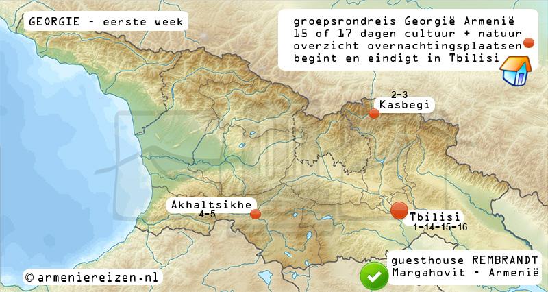 rondreis georgie armenie ge